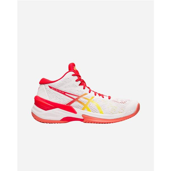 ASICS GEL VOLLEY ELITE FF MT- BIANCO/CORALLO - 1052A023-100
