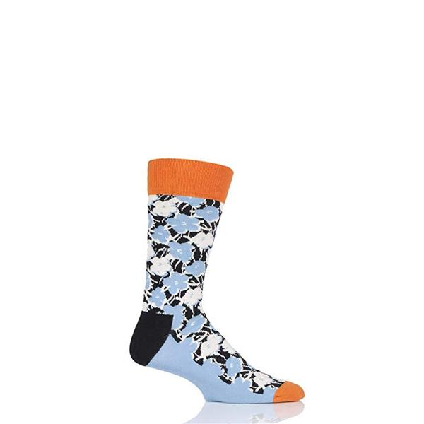 HAPPY SOCKS CALZINI ANDY WARHOL FLOWER - FANTASIA FIORI - AWFL001-6500