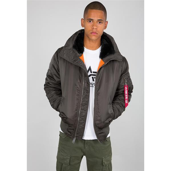 ALPHA INDUSTRIES GIACCA MA-1 - NERO OLIVA - 158104-413