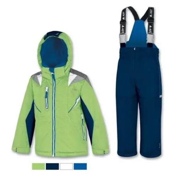 AST COMPLETO SCI BAMBINO - VERDE/BLU - YH9H-TYT