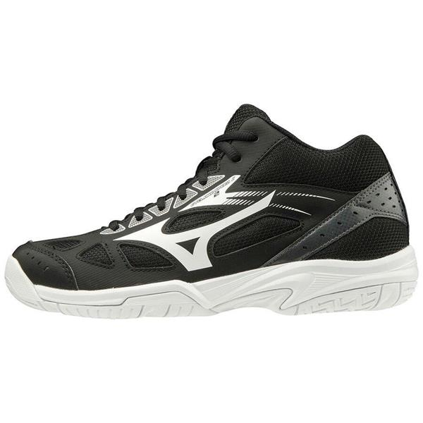 MIZUNOCYCLONE SPEED MID JNR -NERO/BIANCO - V1GD191501