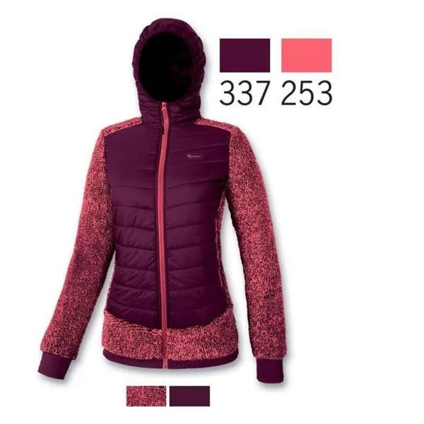 AST GIACCA PELLICETTA ZIP DONNA - BORDEAUX- DD3R-TGT