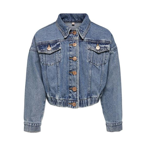 ONLY JACKET - BLU DENIM - 15195707