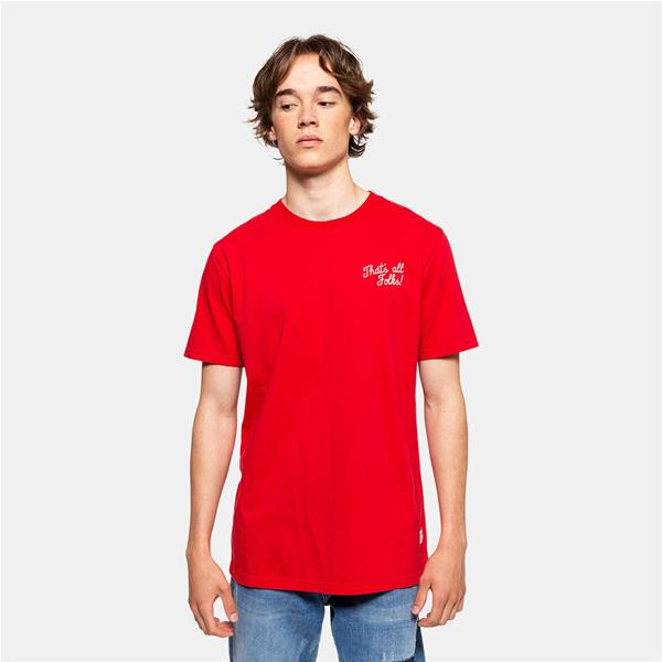 RVLT T/SHIRT PRINT ALL  - ROSSO - 1161-RSS