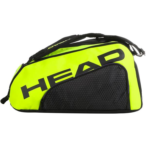 HEAD BORSA ELITE SUPERCOMBI - NERO/GIALLO FLUO - 283960