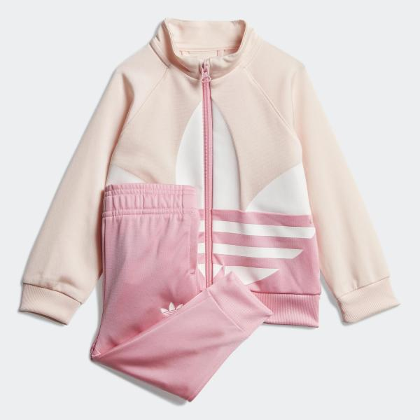 ADIDAS COMPLETO TRACK SUIT TREFOIL - ROSA/BIANCO - GD2650