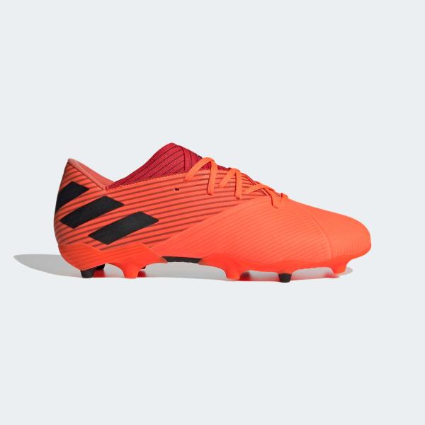 ADIDAS NEMEZIZ 19.2  FG - SIGNCORAL/BLACK/RED - EH0293