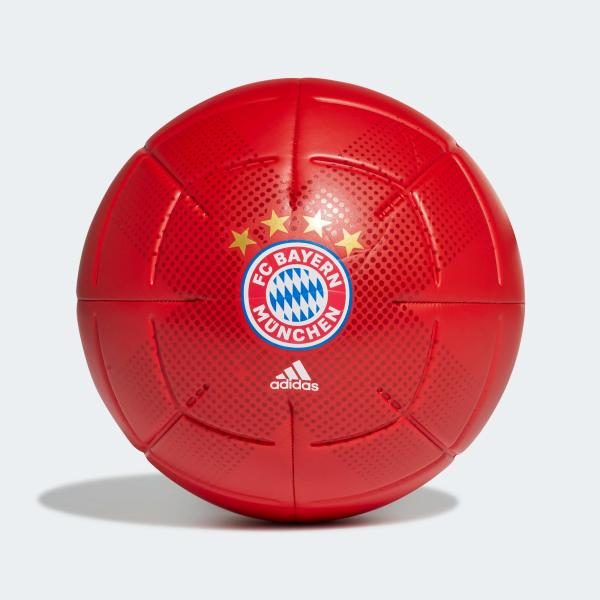 ADIDAS PALLONE FCB CLB - TRUE RED/WHT - GH0062