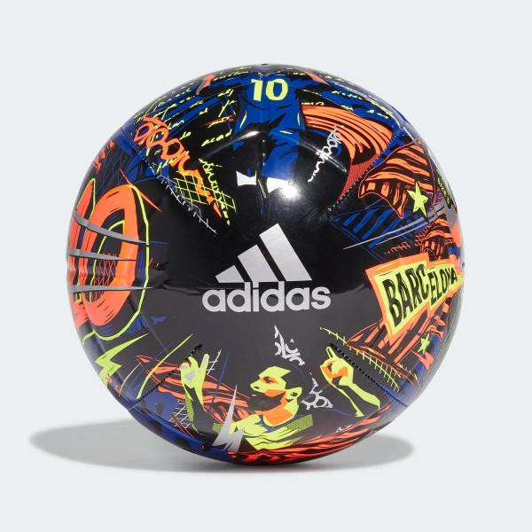 ADIDAS PALLONE MESSI CLB - ROY BLUE/ BLACK/YELLOW - FS0296