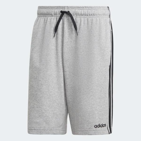 ADIDAS SHORT ESSENTIALS 3-STRIPES - GRIGIO MLG - DU7831