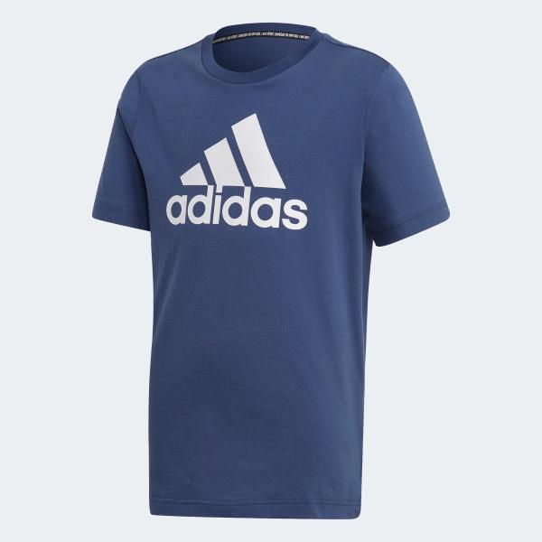 ADIDAS T SHIRT MUST HAVE - BLU INDACO - FM6452