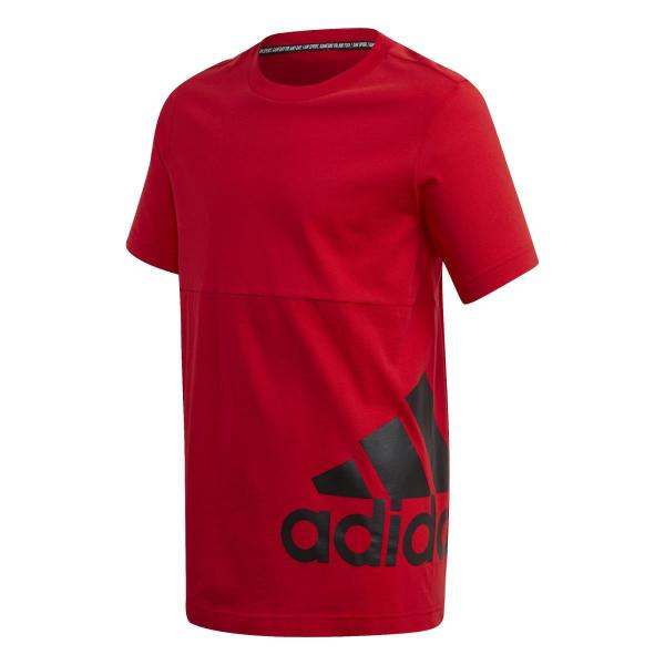 ADIDAS T SHIRT MUST HAVE - ROSSO - FQ7728