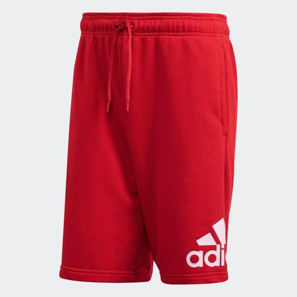 ADIDAS SHORT MUST HAVE - ROSSO - FR7107