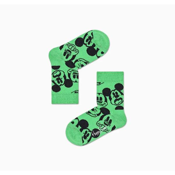 HAPPY SOCKS DISNEY FACE  MICKEY - VERDE - KDNY01-7300
