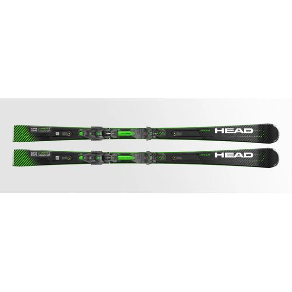 HEAD SUPERSHAPE e-MAGNUM SW + PRD 12 GW - NERO/VERDE - 313330