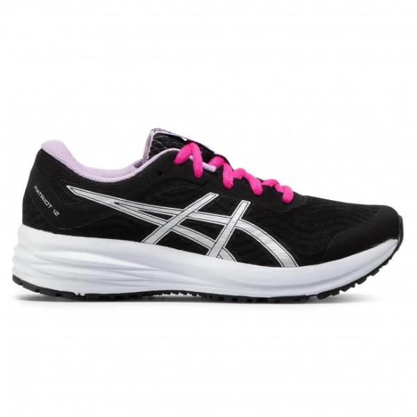 ASICS GEL PATRIOT 12  - NERO/ARGENTO - 1012A705-005