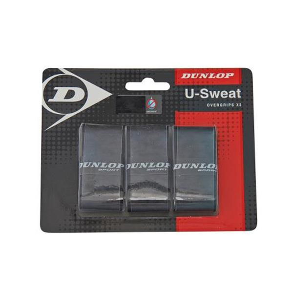 DUNLOP OVERGRIP U-SWEAT X 3 - NERO - 613230
