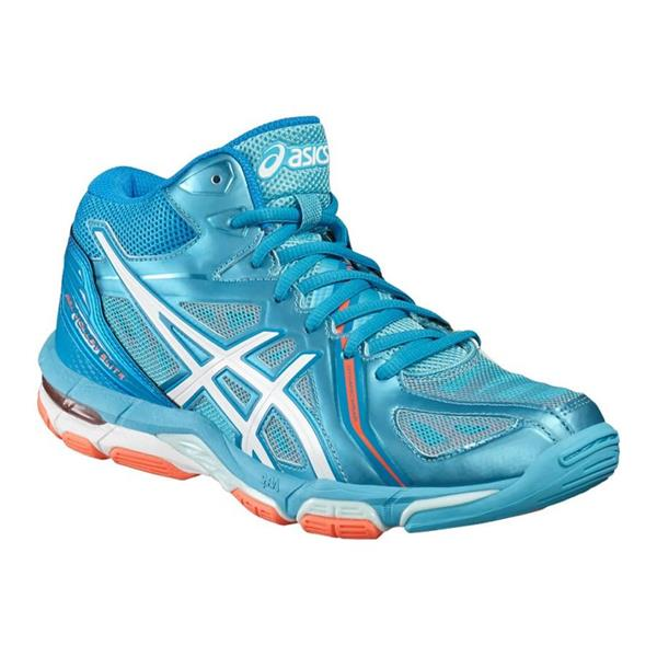 ASICS GEL VOLLEY ELITE 3 MT- TURCHESE/BIANCO - B551N-3901
