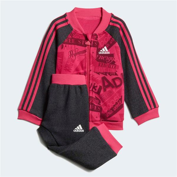 ADIDAS TUTA BASKETBALL FRENCH TERRY - FUXIA/ANTRACITE - DJ1558