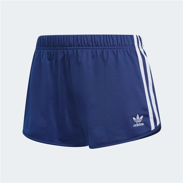 ADIDAS SHORT 3 STRIPES - BLU -  DV2559