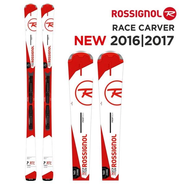ROSSIGNOL SCI PURSUIT RTL + NX 12 FLUID B80 - ROSSO/BIANCO - RRF14BX