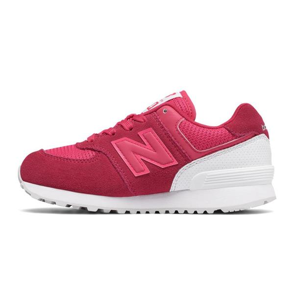 NEW BALANCE   KIDS GIRL - FUXIA/BIANCO - KV574C0Y